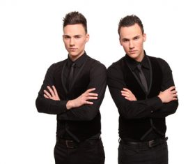 Stock Photo Twin brothers 05