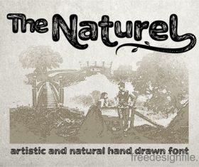 The Naturel Txt Fonts