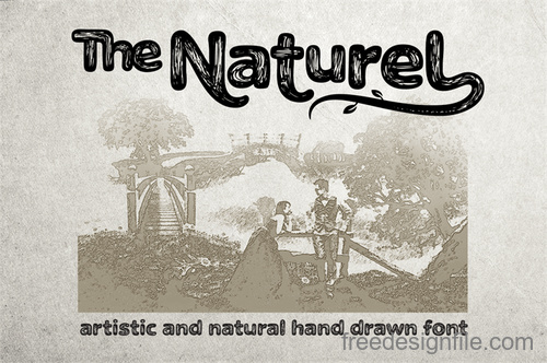 The Naturel Txt Fonts