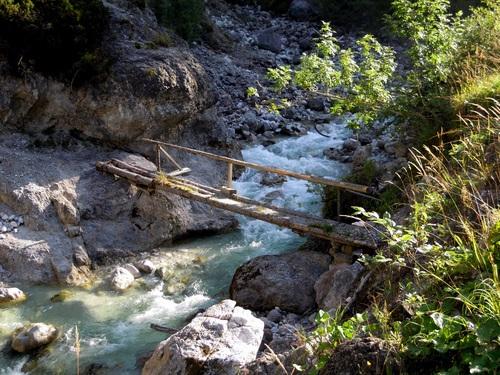 Torrential mountain streams Stock Photo 11