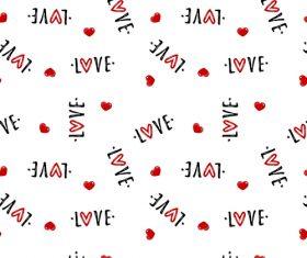 Valentines day pattern seamless vectors set 02