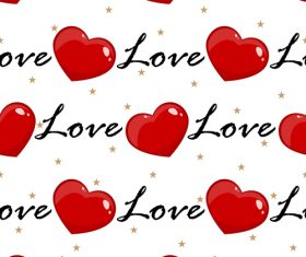 Valentines day pattern seamless vectors set 04