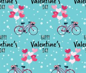 Valentines day pattern seamless vectors set 09