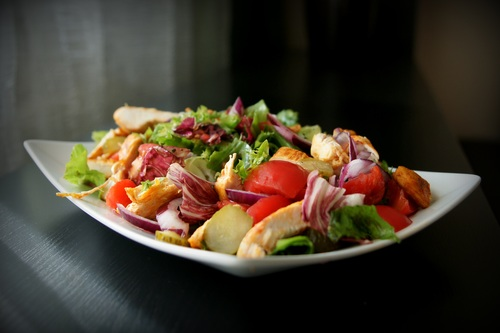https://down.freedesignfile.com/photo/2019/01/07/Various flavors of healthy nutrition vegetable salad Stock Photo 01
