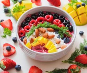 Various fresh fruits Stock Photo 02