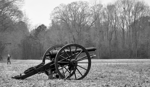 Vintage artillery Stock Photo 01