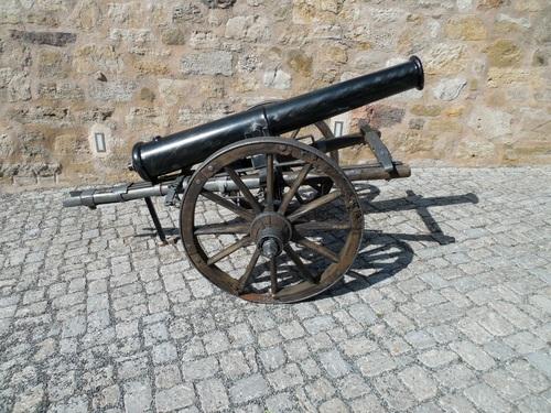Vintage artillery Stock Photo 04
