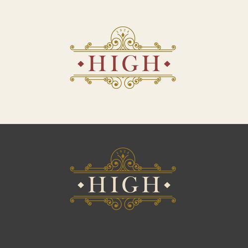Vintage luxury labels template vectors 03