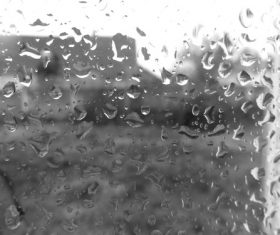 Water drops on the window Stock Photo 12