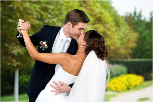 Wedding Couple Stock Photo 01