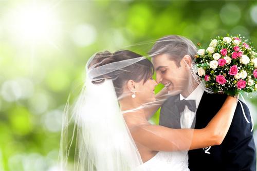Wedding Couple Stock Photo 03