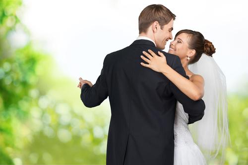 Wedding Couple Stock Photo 04