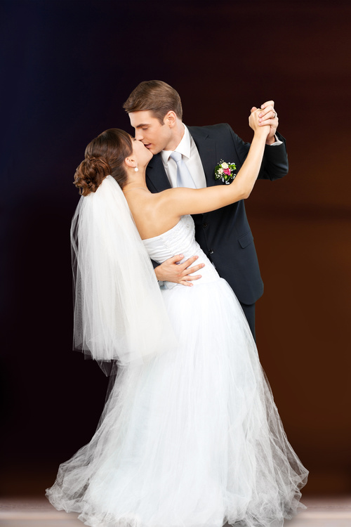 Wedding Couple Stock Photo 08