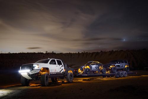 White Dodge Pickup Truck Stock Photo 05