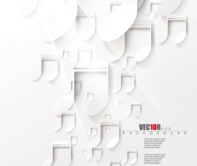 White music backgrounds vectors 01
