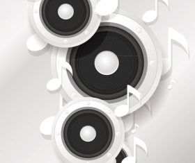 White music backgrounds vectors 03