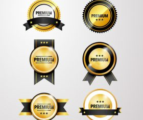 medaille template vector