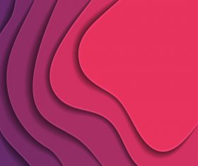 paper layers pink background vector