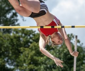 pole vault Stock Photo 01