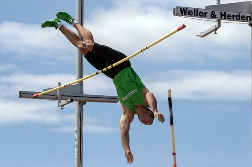 pole vault Stock Photo 02