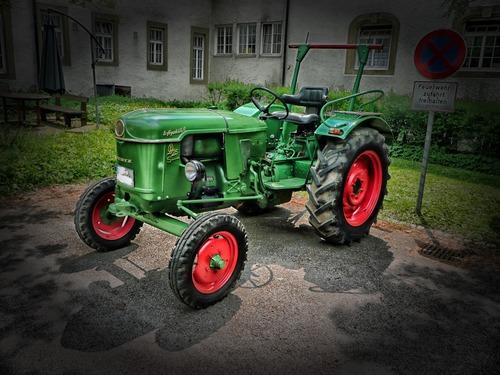 tractor Stock Photo 04