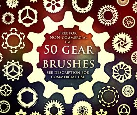 50 Kind Gea Photoshop Brushes