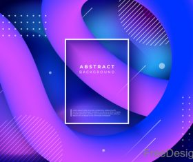 Abstract colored tapes vector background