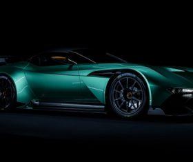 Aston martin vulcan Stock Photo
