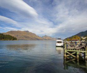 Autumn scenery of Queenstown New Zealand Stock Photo 06