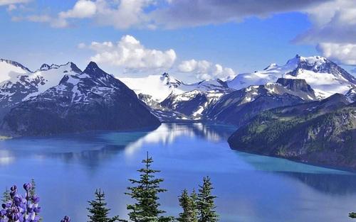 Beautiful and charming scenery Stock Photo 03