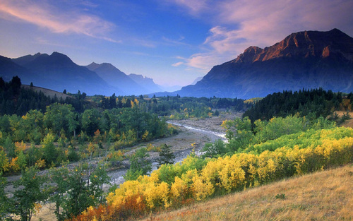 Beautiful and charming scenery Stock Photo 07