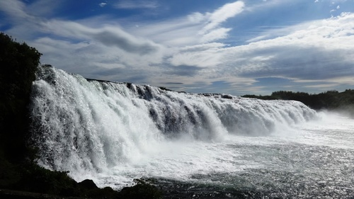 Beautiful view of Gullfoss Iceland Stock Photo 05