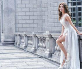 Beauty bride wedding photography Stock Photo