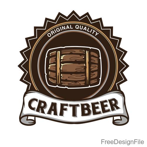 Beer symbol design vector