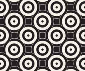 Black with white cricles textured pattern vectors