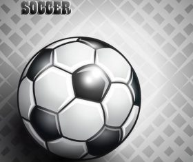 Black with white football backgrond vector