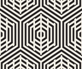 Black with white textured pattern vectors 01