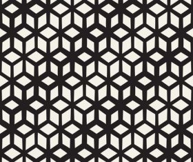 Black with white textured pattern vectors 06