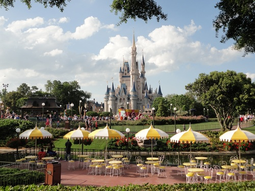 California Disneyland Stock Photo 06
