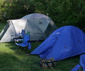 Camping tent Stock Photo 01