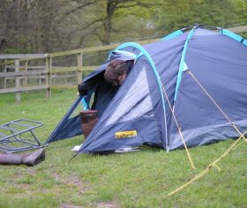 Camping tent Stock Photo 02