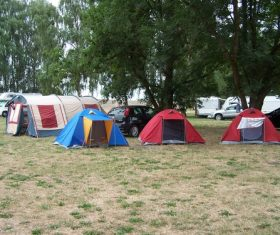 Camping tent Stock Photo 03