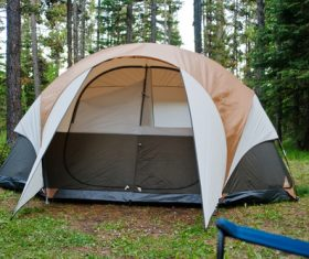 Camping tent Stock Photo 04