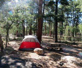 Camping tent Stock Photo 05