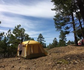 Camping tent Stock Photo 07