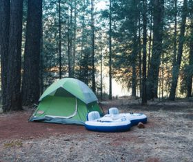 Camping tent Stock Photo 08