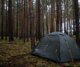 Camping tent Stock Photo 09