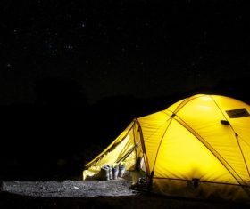 Camping tent Stock Photo 11