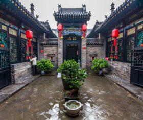 China Pingyao Humanities Landscape Stock Photo 01