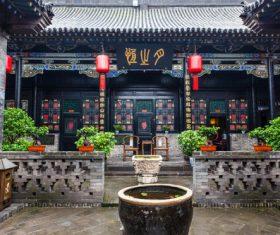 China Pingyao Humanities Landscape Stock Photo 02
